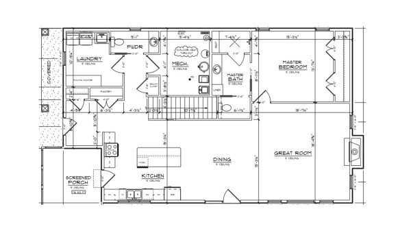 Ramsey Main Floor Plan